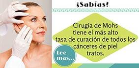 Mohs cirugía tiene la mayor tasa de curación de todos los tratamientos de cáncer de piel.